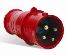 PLUG SHOCK TITE 3P+T 32A-380/440V 6H VM S-4276/W  STECK