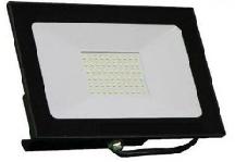 REFLETOR LED IP66 BIVOLT - PRETO  - 6500K - 100W
